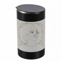 schwarze-runde-aromaschutz-gewuerzdose-aus-metall-mit-funky-etikett-von-dosenritter