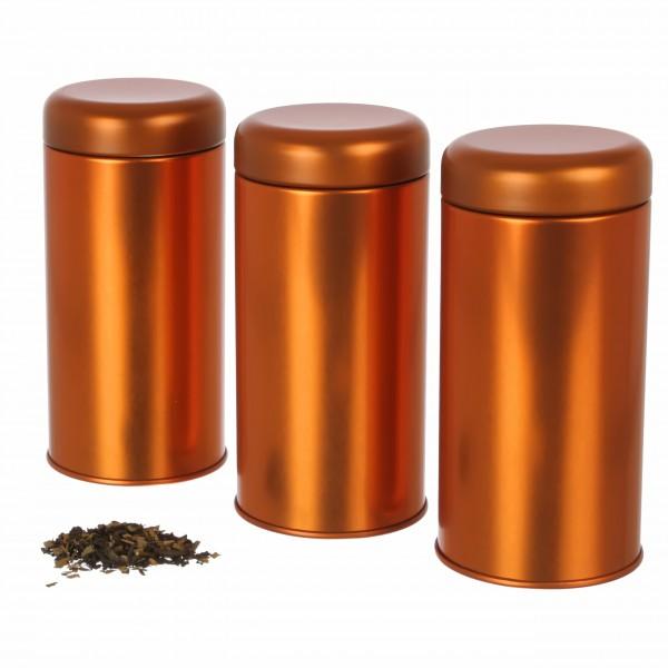 3er Set | Koi elegante Tee- / Vorratsdose für Kräuter